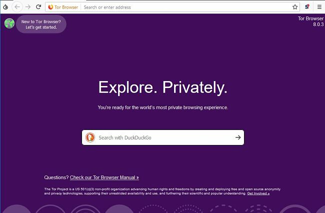 Use Tor to hide your IP