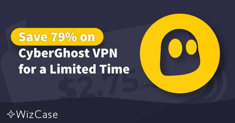 Έγκυρο Κουπόνι της CyberGhost VPN για το 2020: Εξοικονομήστε έως και 79% Σήμερα