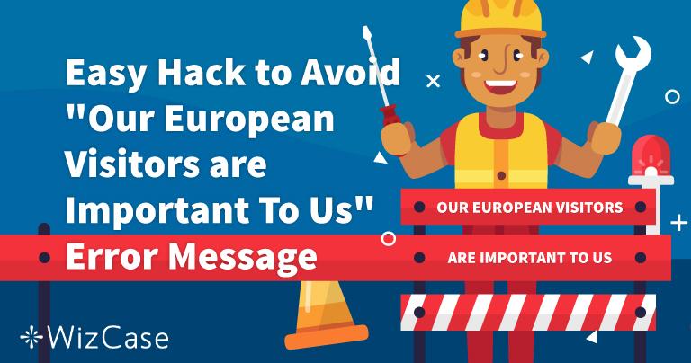 """Επιλύστε το Μήνυμα """"Οι Ευρωπαίοι Επισκέπτες είναι Σημαντικοί για Εμάς"""""""